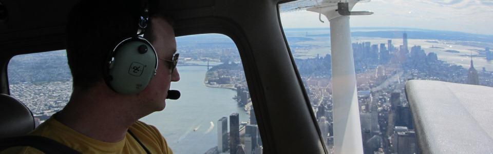 Colin Over Midtown Manhattan